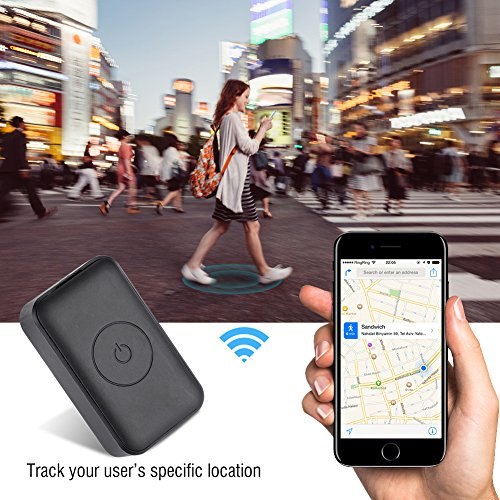 fosa Smart GPS Tracker, Real Time GSM 850/900/1800/1900MHz GPS Tracker, GPS+ AGPS+LBS+WIFI Tracking Device for Outdoor, Hiking, Hunting, Children and Pets Trackers One Key SOS Call by fosa (Image #4)