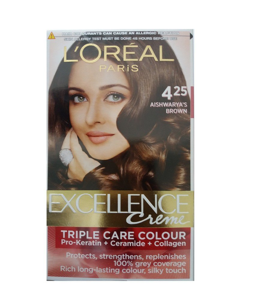 Buy Loreal Paris Excellence Creme Aishwaryas Brown 425 72ml100g