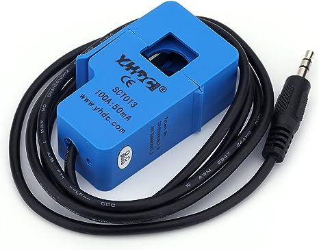 AC Power Sensor SCT-013 0-30A 0-1V ADC Non-Invasive Energy Sensor Current Sensor for Arduino ESP8266
