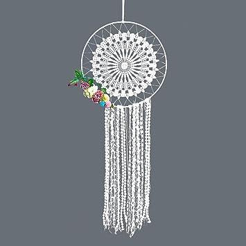 IMMIGOO Gross Traumfänger Handgefertigt Traditionelles Ringe Reifen  Dreamcatcher Indischen Gute Träume Wand Dekoration Haus Zimmer Deko