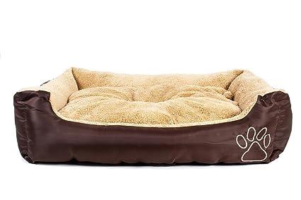 Caseta grande cucciolona para perros Double Face Verano Invierno cojín extraíble lavable -