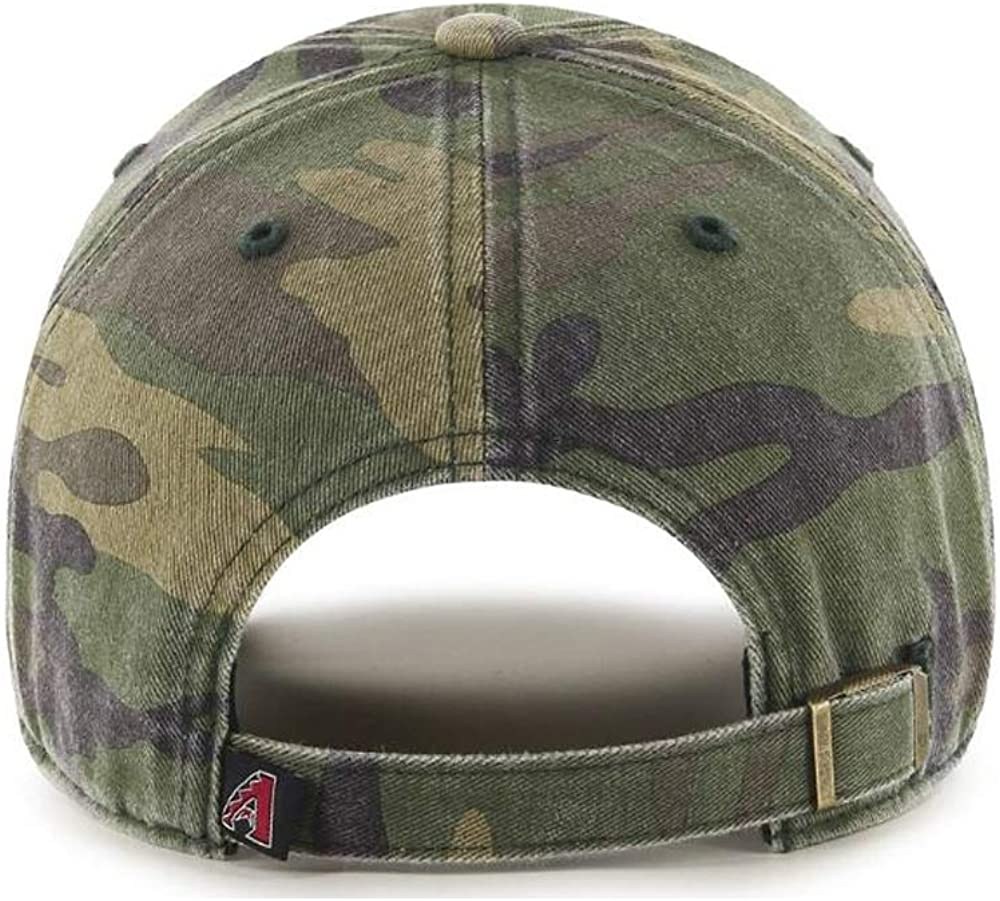 47 Brand Arizona Diamondbacks Clean Up Hat Cap Camo Camouflage