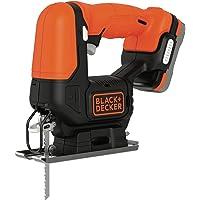 Black+Decker BDCJS12S1-QW Sierra caladora inalámbrica – Profundidad: 16 mm 52 mm –…