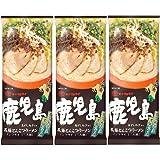 マルタイ 鹿児島黒豚とんこつラーメン 185g×3袋
