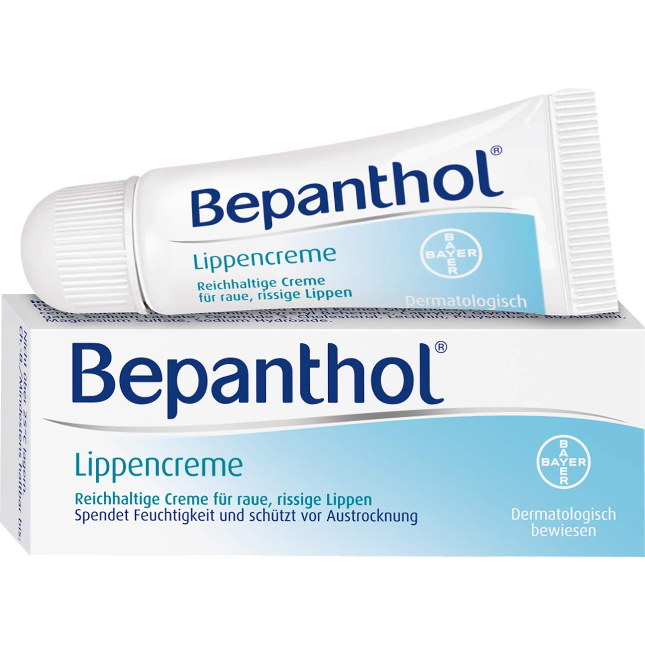 Bepanthol Lip Cream, 7.5 g Cream