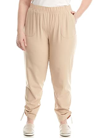 fb24cd7235090 Kim Rogers Women s Plus Size Feather Weight Pant at Amazon Women s ...