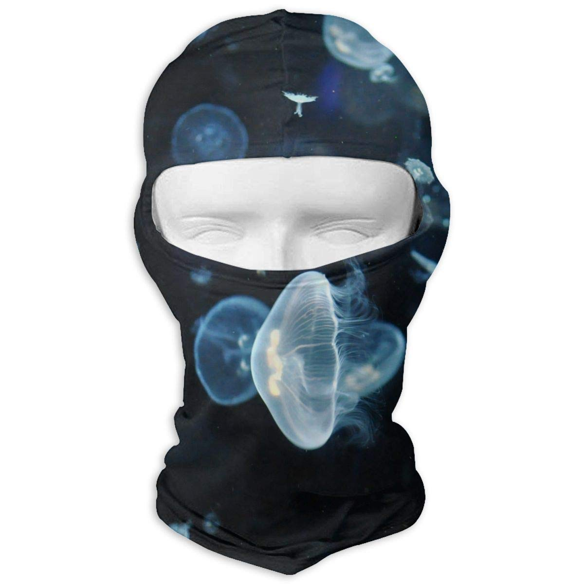 Jellyfish Balaclava Face Mask for Windproof UV Protective Hat for ...