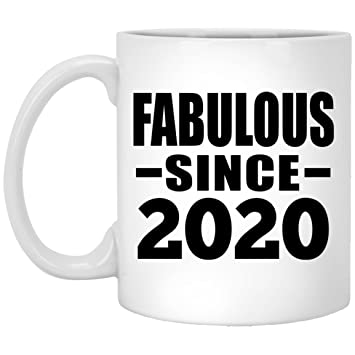 Mom Birthday Gift Ideas 2020 Amazon.com: Birthday Gift Idea Birthday Fabulous Since 2020 11 Oz