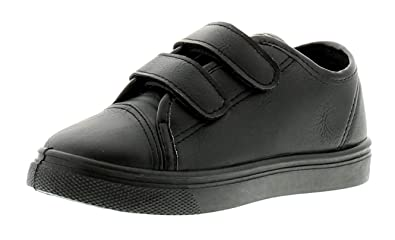 Rockstorm Albert Boys Kids School Shoes Black - Black - UK Size 12 ... 28a5b86510a8