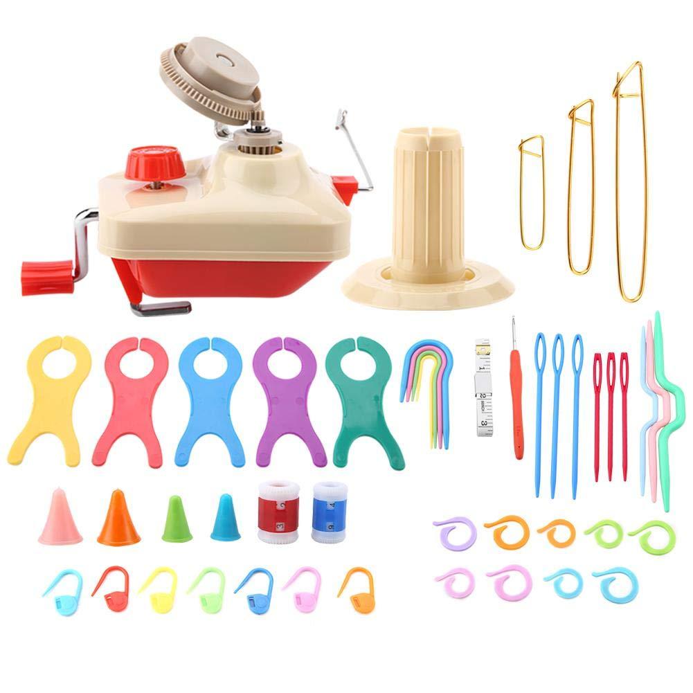 Handheld Yarn Winder Swift Fiber String Ball Wool Knitting Winder Holder Practical Winding Machine Sewing Accessories
