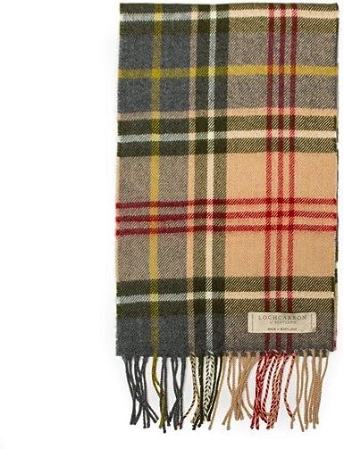 New Scottish 100/% Lambswool of Scotland Scarf Tartan Wool Scarves Stoles