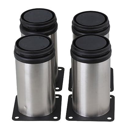 BQLZR Stainless Steel Kitchen Adjustable Feet Round 2\