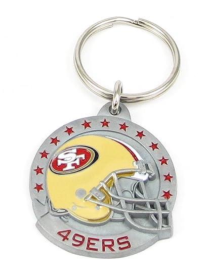 Amazon.com: NFL Equipo Casco Key Ring – San Francisco 49ers ...
