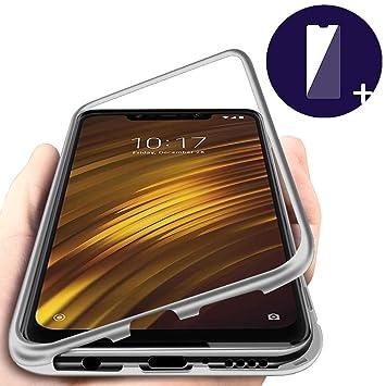 DoubTech Funda para Xiaomi Pocophone F1 Carcasa Adsorcion ...
