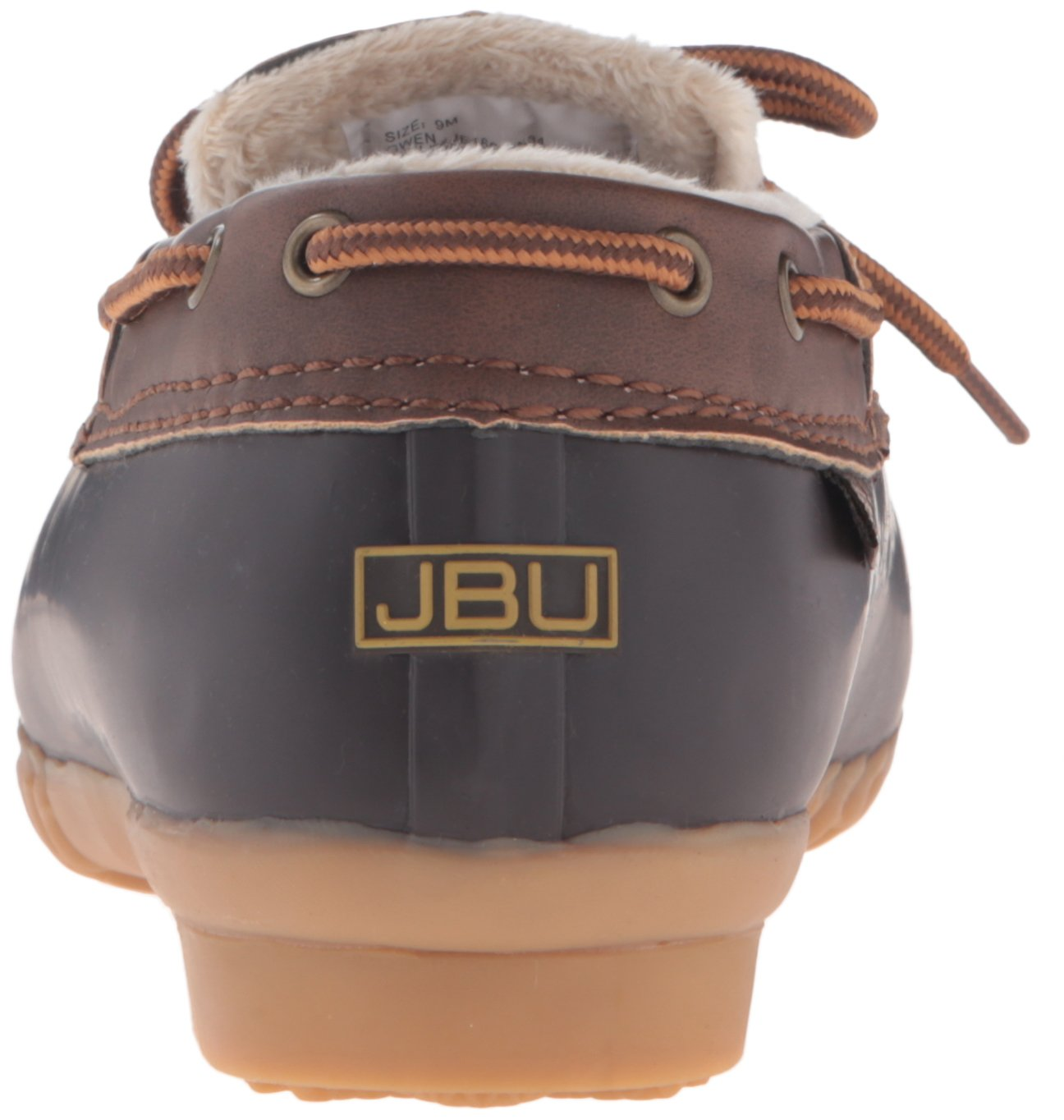 JBU by Jambu Women's Gwen Rain Shoe B01CKROXB2 7.5 B(M) US|Brown