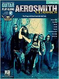 Aerosmith classics guitare +cd: Guitar Play-Along Volume 48