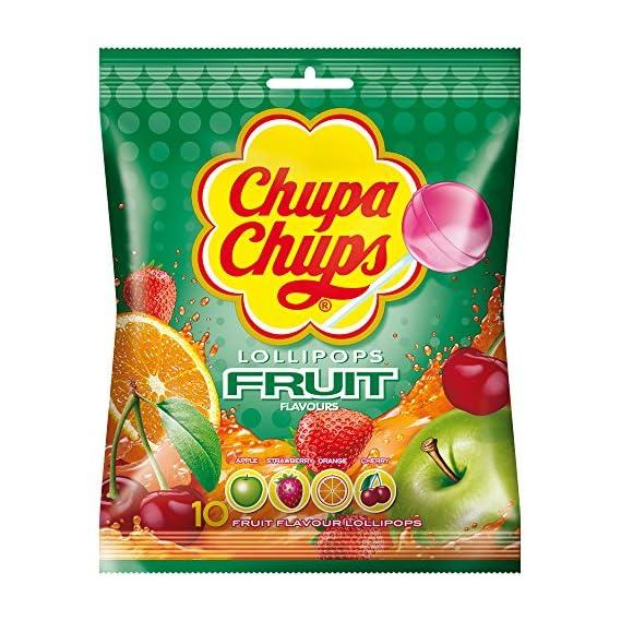 Chupa Chups Fruit Lollipops 120g