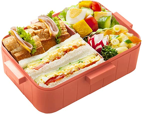4-point lock lunch box 650ml [Pikachu Face] : Amazon.es ...