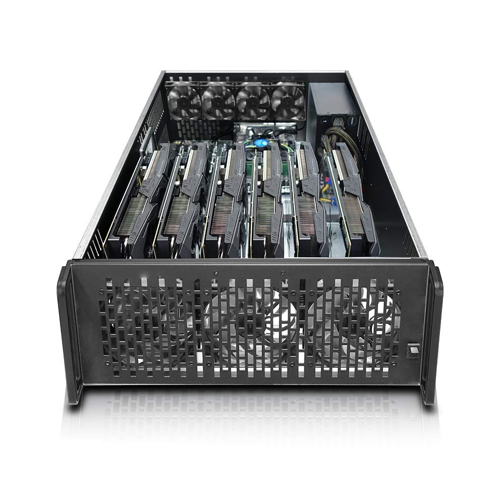 Hydra III 8 GPU 4U Server Mining Rig Case