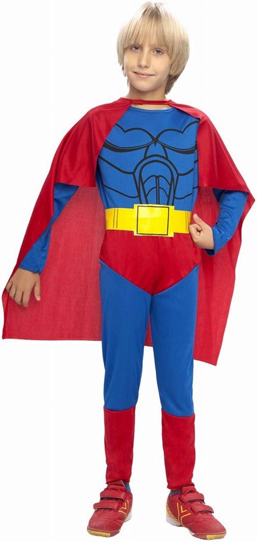 Disfraz de Superman infantil - Talla - 10-12 años: Amazon.es ...