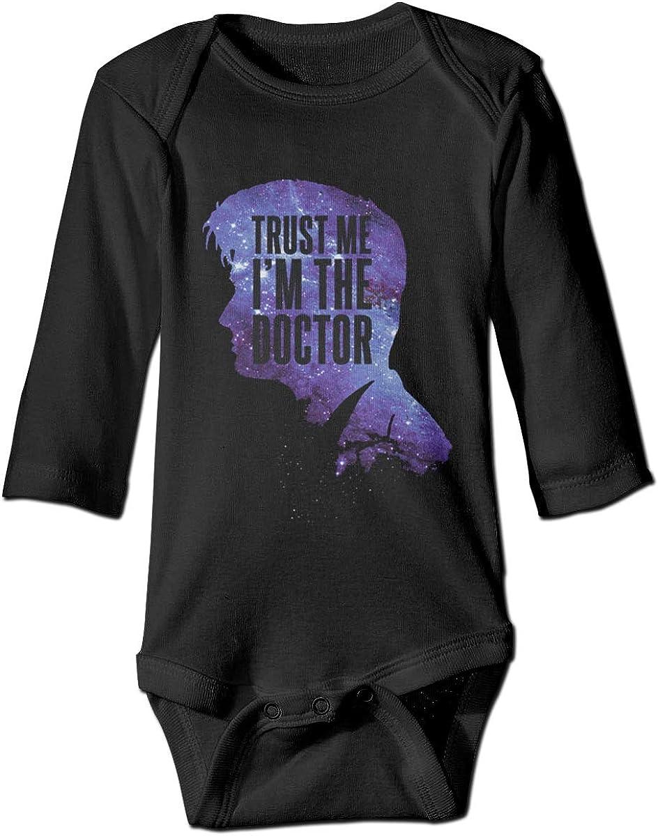 Marsherun Baby Boys Girls Trust Me Im The Doctor Long Sleeve Bodysuits Playsuits