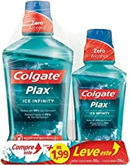 Enxaguante Bucal Colgate Plax Ice Infinity 500ml Promo Leve 500ml Pague 250ml