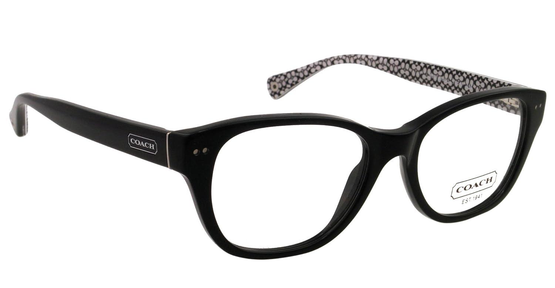 0ea15835eb853 Amazon.com  Coach Susie Eyeglasses HC6029 5002 Black Demo Lens 51 17 135   Coach  Shoes