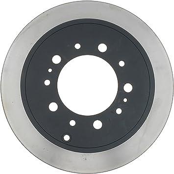 ACDelco 18A2558A Advantage Non-Coated Rear Disc Brake Rotor