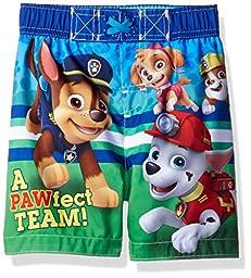 Nickelodeon Toddler Boys\' Paw Patrol Swim Trunk, Blue, 2T