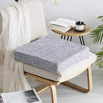 Amazon.com: H.S.D - Cojines gruesos para sillón o asiento de ...