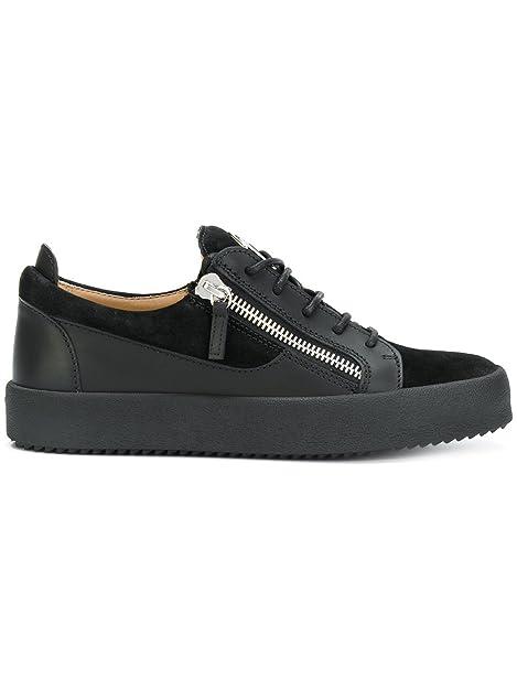 Amazon Zanotti Design Ru70000013 Nero Pelle Uomo Sneakers Giuseppe zg4wqZ