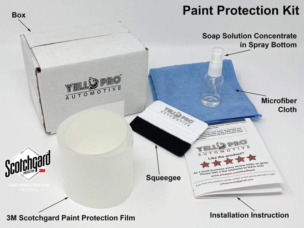 3M Scotchgard Paint Protection Film Pro Series Clear 2018 2019 Volkswagen Tiguan