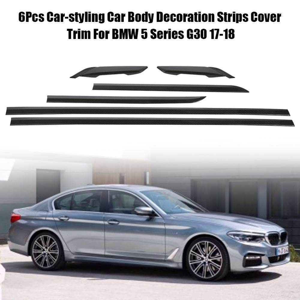 Amazon.com: Acouto 6PCS Fashion Style Car Body Cover Trim Decoration for BMW 5 Series G30 17-18(#1): Automotive