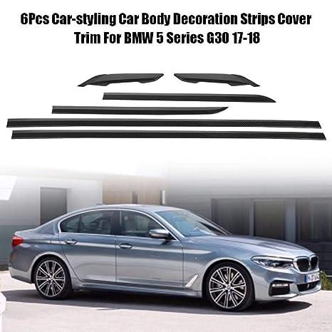 Amazon.com: Acouto 6PCS Fashion Style Car Body Cover Trim Decoration for BMW 5 Series G30 17-18(#1): Automotive