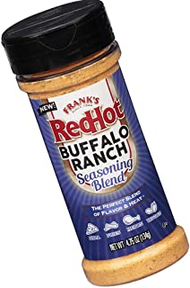 product image for Frank's Redhot Buffalo Ranch Seasoning Blen, (Buffalo Flavor), 4.75 oz, Limited Edition