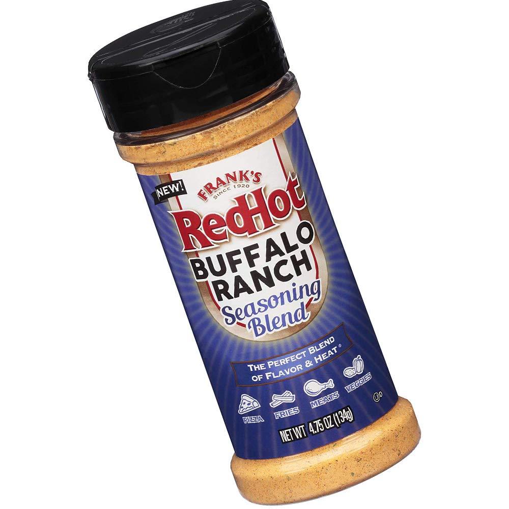 Franks Redhot Buffalo Ranch Seasoning Blen, (Buffalo Flavor), 4.75 oz, Limited Edition