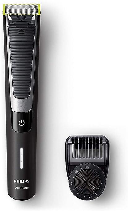 Philips OneBlade Pro QP6510/30 - Recortador de barba con peine de ...