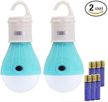 Hot Sales Hanging 3 LED Outdoor Camping Lamp Tent Camp Light Lantern Hook