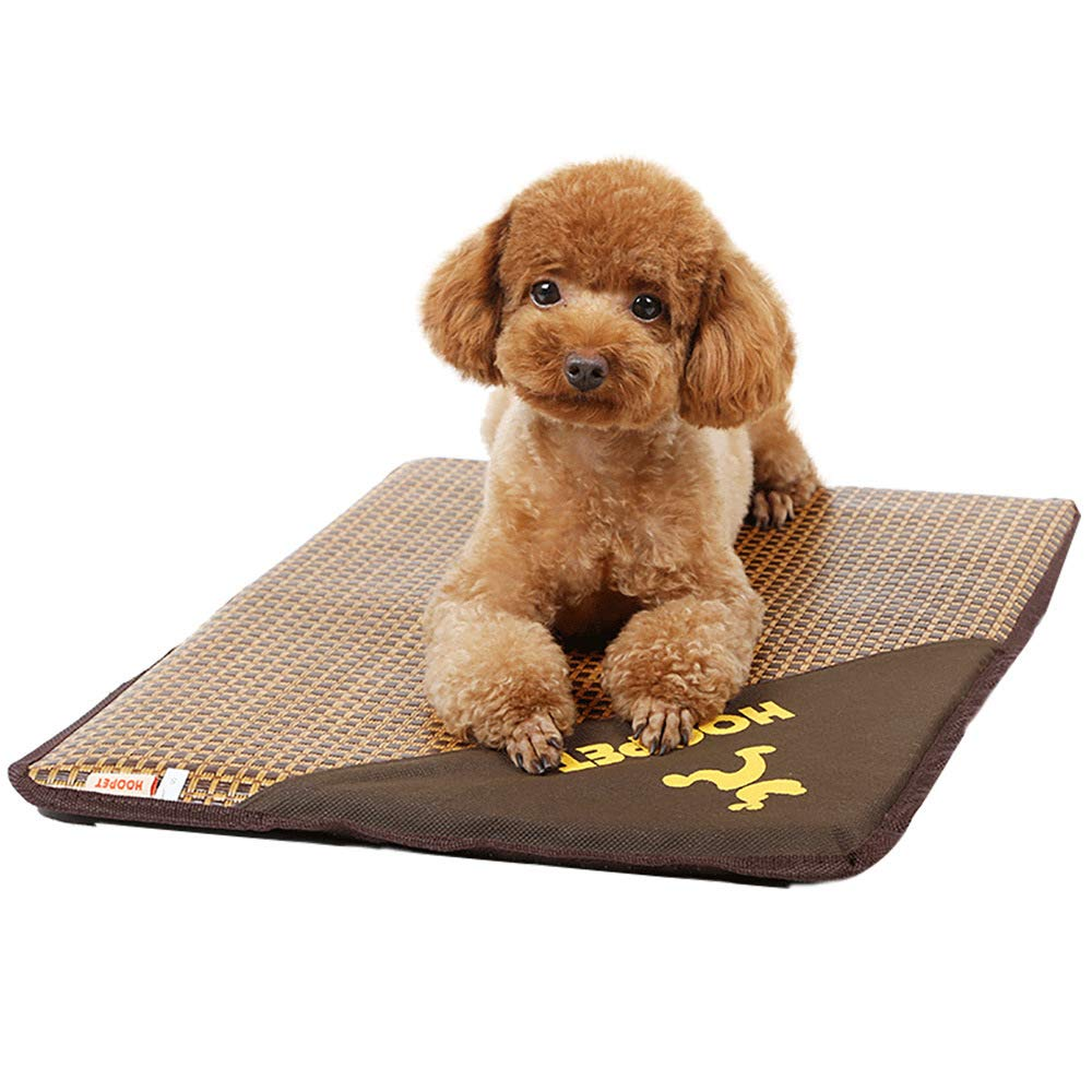 4838cm Foldable Summer Pet Cooling Mat,NonSticky Bite Resistant Kennel Mat Pet Pad,Pet Sleeping Mat for Help Your Pet Stay Cool