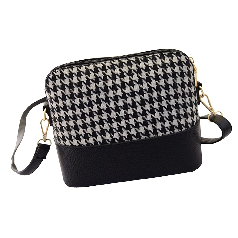 Albabara Women鈥檚 Crossbody Bag Girls' Square Envelope PU Leather Shoulder Bags