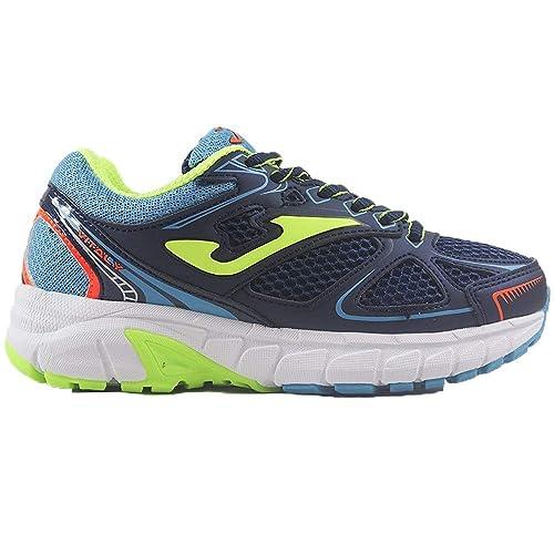 e3f338b87 Zapatillas Running Infantiles para niños Joma Vitaly Jr 903 Marino-Fluor:  Amazon.es: Zapatos y complementos