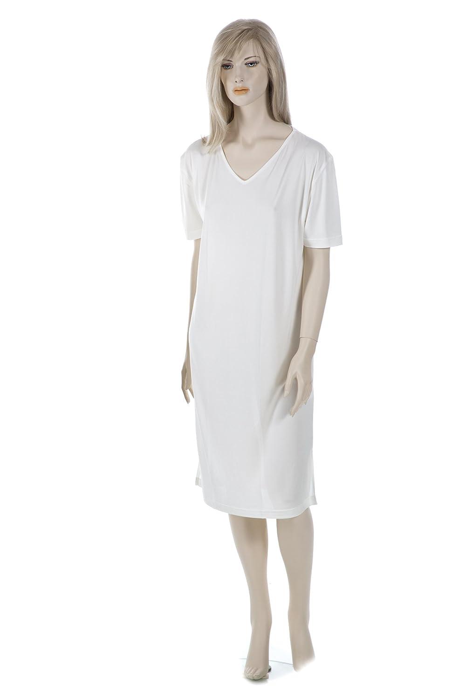 SUPERIOR NATURALS, Nachthemd, Sleepshirt, Damen, 100% Seide, Natur