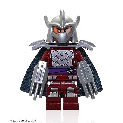 Lego Teenage Mutant Ninja Turtles Shredder Minifigure: Toys & Games