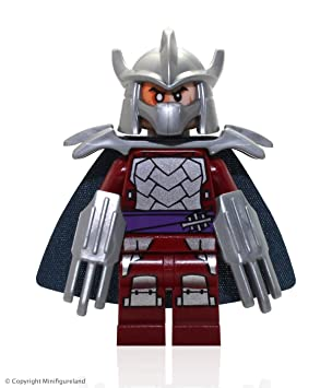 Lego Teenage Mutant Ninja Turtles Shredder Minifigure ...