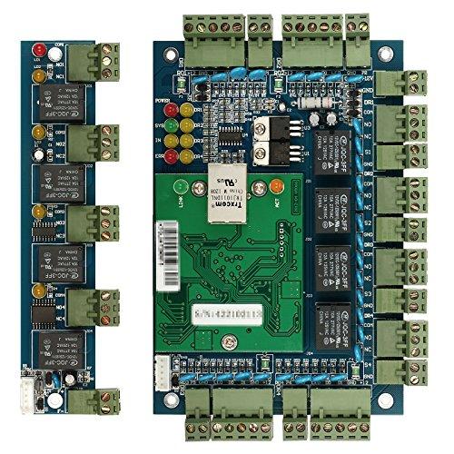 Professional Access Control Door Board Panel 4 Doors 4 Readers Controller Office TCP IP Network + Extension Board