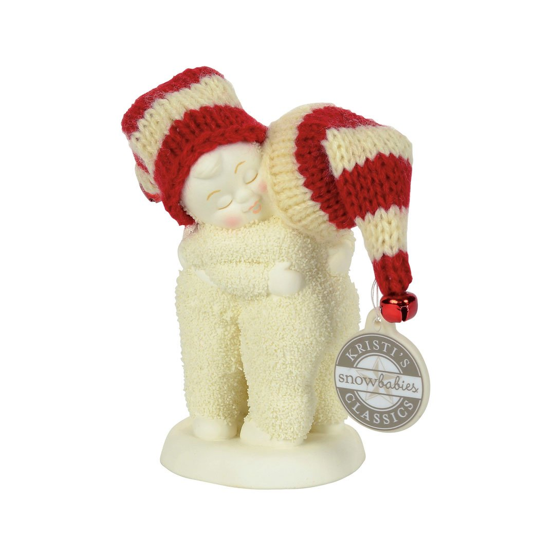 Department 56 Snowbabies I Need a Hug Figurine, 4 inch