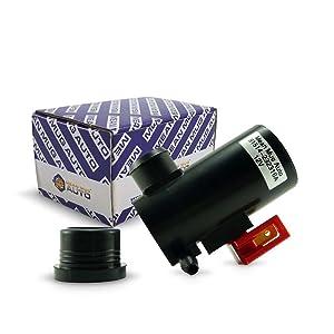 Mean Mug Auto 81514-232316A Windshield Washer Pump (Front) w/Grommet - For: Honda, Acura, Subaru - Replaces OEM #: 38512-SA5-013, 38512-SA5-981, 86611-AA010