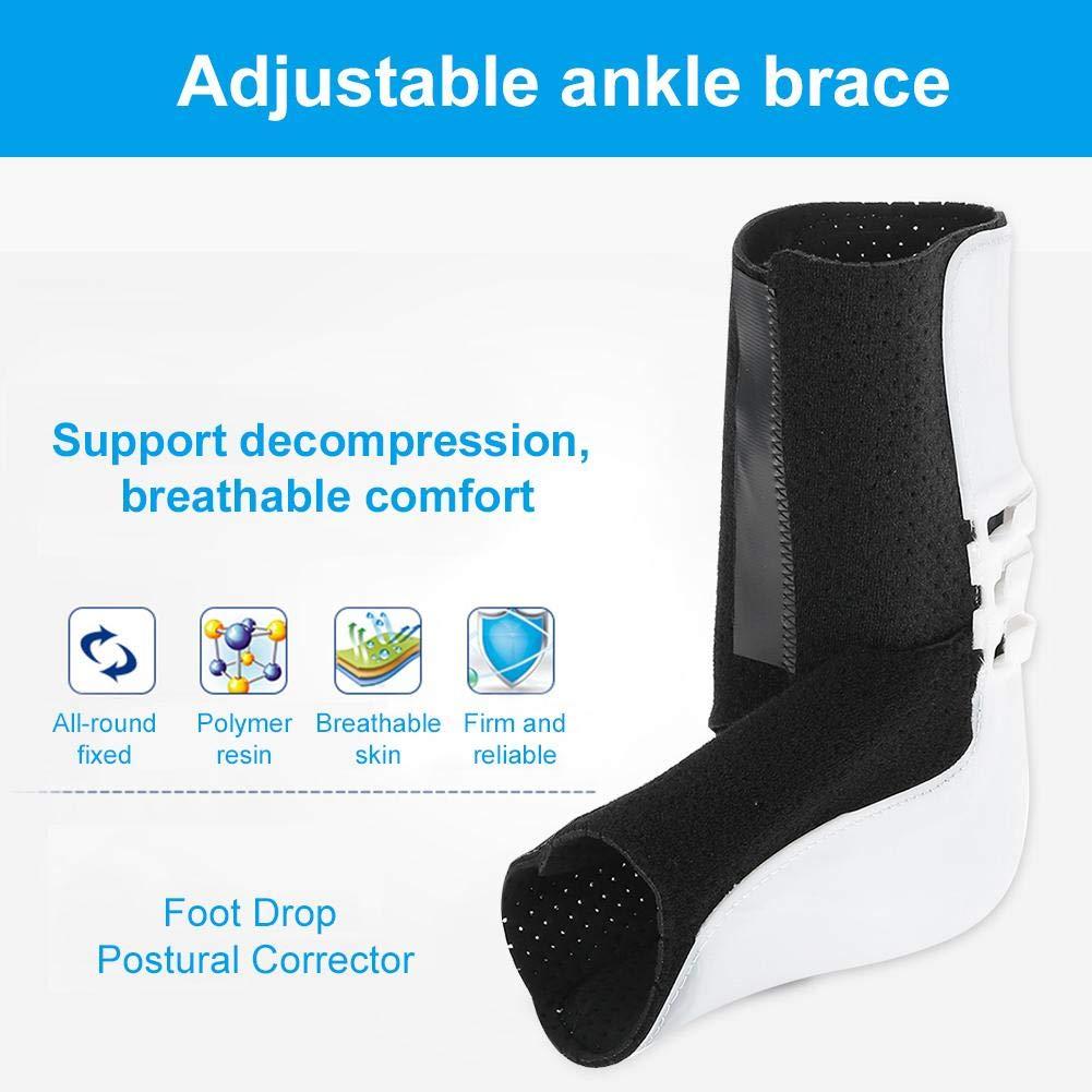 tendinite Protezione della Caviglia con Cinturino Regolabile per Il Sostegno del Cinturino alla Caviglia per ausilio di distorsione TMISHION Supporto per Caviglia,correttore del Piede