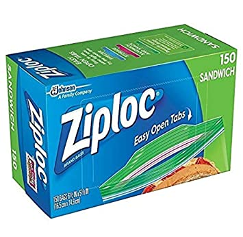 Amazon.com: Ziploc sandwhich bolsas, Transparente: Kitchen ...