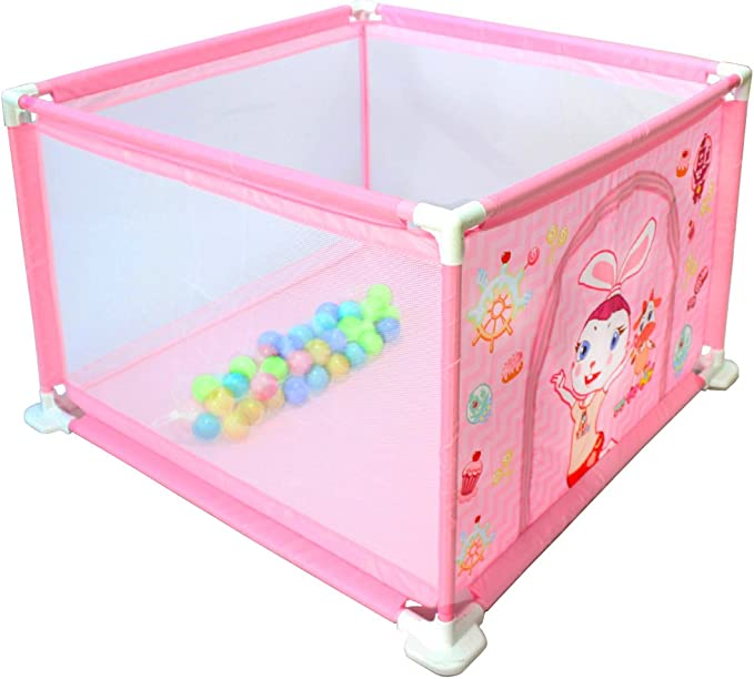 15 opinioni per deAO Box per Bambini Parco Giochi e Piscina di Palline Palestrina Include Palle